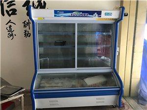 九成新的烧烤车和展示柜出售
