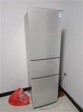 新买的容声三门冰箱用了两个月全新的