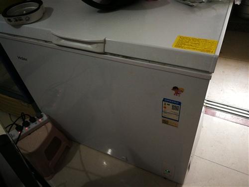 海尔冰柜 九成新 就用了几个月