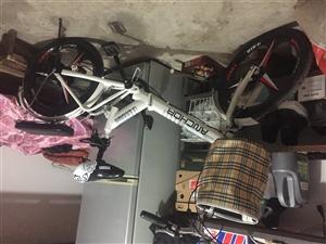 飞鸽铁锚折叠自行车 给外甥女买的 买大了 现忍痛转让原价580