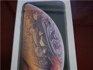 国行全新未拆封,苹果XS,64G,金色