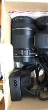 佳能套机550D,镜头18-135,拍了几次车展,一直闲置在家,附件和发票齐全!原价6300,现在3...