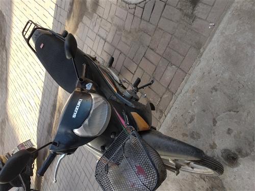 个人出售铃木弯梁摩托车 车况好 无事故 自提不议价