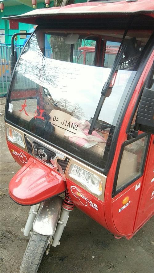大江摩托三轮车一辆,2017.3月份购。因长年在外面打工,里程500多公里。原价13600元,现低价...