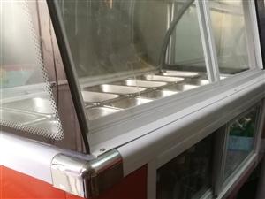 有台全新冰粥柜可做熟食,可做水果捞14格子,1.2米长,现在改行,有要的朋友可以联系。       ...