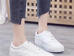 2019春新款韩版小白鞋女平底休闲女鞋,因脚踝做了手术,原价69,现低价转让39