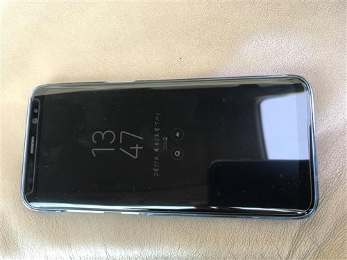 三星S8.64G内存,宝石蓝