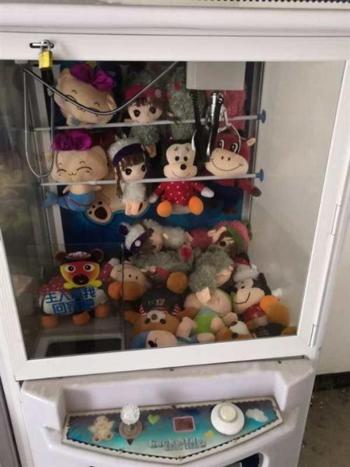 转让3台娃娃机,9.9成新,买的时候一台三千多,用了不到一个月,现在低价转让:三台一千,单买500,...