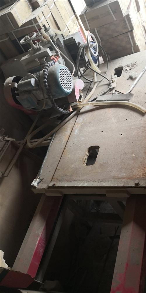 本人有一台瓷砖加工机器标配3000w三相电,5700元购买的,没有怎么用,闲置无用,愿以3600元出...