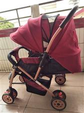 婴儿车150元 可坐可躺四季通用 附近周边送货上门加30邮费