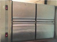处理餐桌 冰柜 快餐盒 消毒柜 卤菜柜 展示柜 餐馆全套 有些要的全部买走4000元