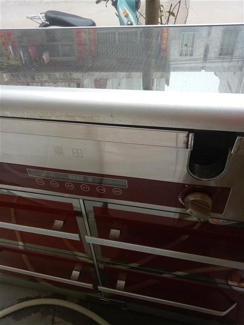 本人有个果田集成灶一边 用煤气一边用电炉里面还有油烟机需要的老板15595928776