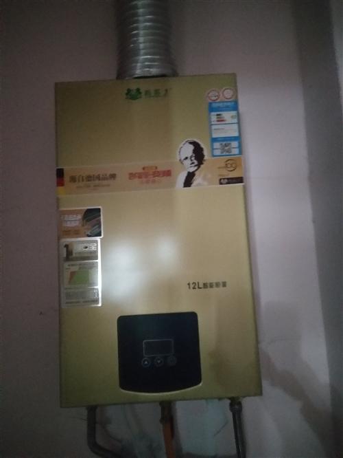 路易士熱水器12L 可數字控制水溫,用了幾個月,9.5成新,500急轉