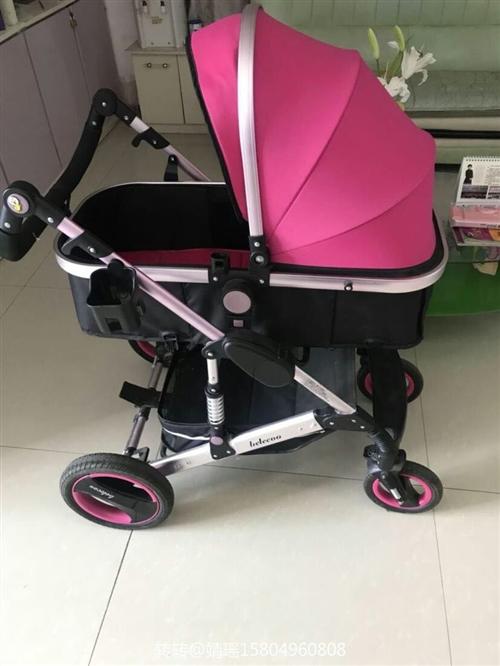 高景观婴儿车,没用两次,电话咨询15804960808