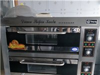 双层烤箱,三相电,面火底火的可控温,店面搬家,低价处理