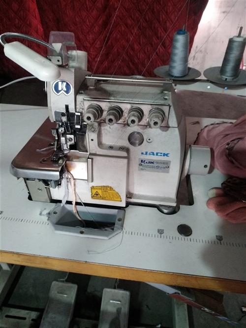 缝纫机,单针机,电动缝纫机 兄弟牌 正在使用中,很好用,五百出,    四线锁边机  九成新 杰克...
