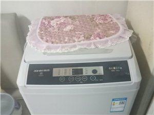 新乐牌7公斤洗衣机99成新,原价1699元,只用过二次,现底价处理。