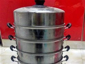 小笼包子蒸笼一套,九格,材料是好那种做的,可用蒸馒头,包子,热饭菜等省时省力,非常方便,要的赶快。才...