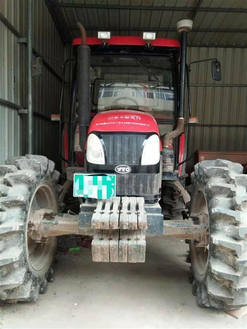 8成新東方紅LX804耕種播種農用機轉手