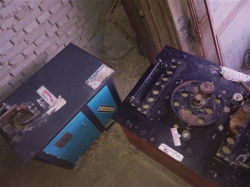 【出售信息】本人有两台钢筋取直机一大一小。九成新。质量保证。价格面议。有需要的联系请致电:13830...