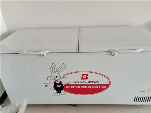 本人出售冰柜一个,九成新,长1米八。