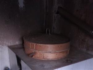 大蒸锅只用过一次,现处理了,铝锅竹盖。需要的联系我
