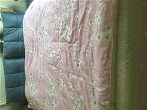 急售,9.8成的1.8*2.0米的床,带两个床头柜和床垫,低价出售,有意者联系,价钱可以商量电话:1...