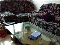沙发三件套500元出售送茶几