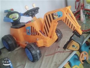 儿童挖掘机电动可充电便宜出售联系方式15020964521价格好商量