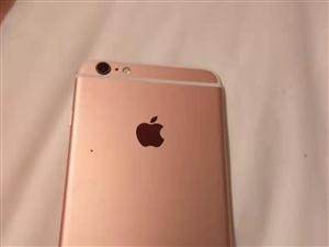苹果6sp64G国行玫瑰金1800元出售,