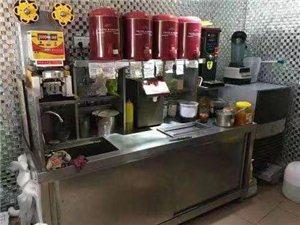 白菜价转八成新全齐奶茶设备,也可带技术转。微信与电话同号。
