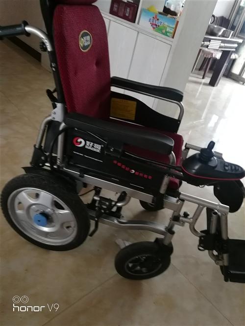 电动轮椅用了一年多,转给需要 的人。