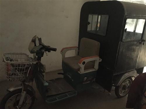 处理家庭自用捷马电动三轮车,车况良好,现闲置处理,无电瓶,带车棚,接送孩子首选。