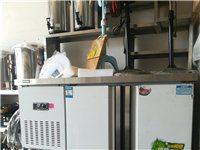 二手水吧操作台   制冰机   烤鸭炉   展示柜    空调等!价格面谈