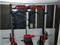 专业史密斯机健身龙门架多功能深蹲卧推架综合训练器组合健身器材,今年正月入手,99成新,由于身体原因不...
