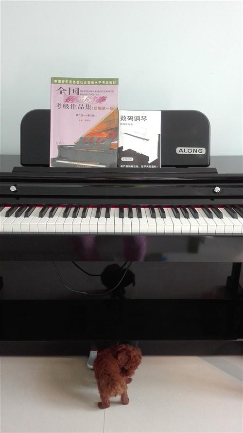 处理闲置的家用99新爱浪m-1000型电钢琴,法国dream音源,音质超好,适合初学钢琴的同学练手用...