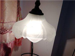 便宜转让复古荷花型台灯,开关控制,买来一直闲置着,转让有需要的人,原价198