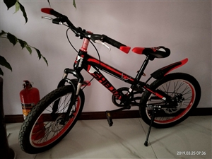 新自行车,因孩子不喜欢此款式转手,价格可以商量!