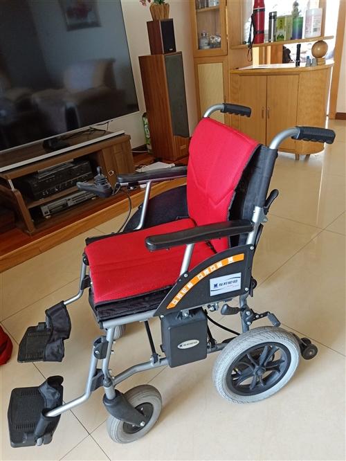 互邦电动轮椅,小巧轻便,可折叠,动力充足,充一次电能跑20公里。整体只有18公斤,出门携带方便,可放...