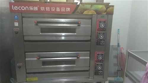 九成新乐创两层四盘燃气烤箱,火力均匀稳定,使用半年,有需要的可以联系我,二道贩子勿扰。 乐创商用和...