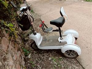 迷你型三轮车成人电动车可折叠三轮车男女士便携三轮代步接送孩子!(有意者请联系,微信号码同步)