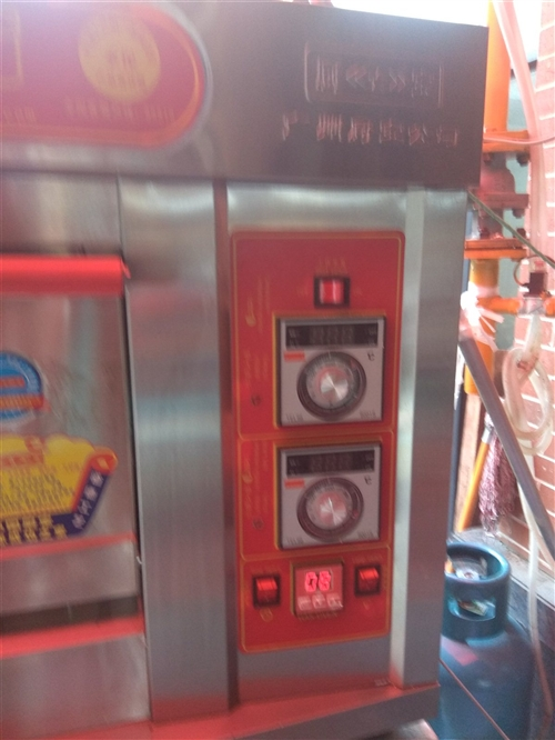 燃气食品烤箱,厨宝牌,一层双盘,刚买一个星期,便宜处理