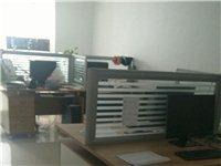 4人8人位办公桌对坐屏风员工位职员桌