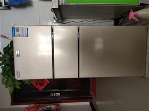 小三层冰箱138升刚买才2个月,用不着了