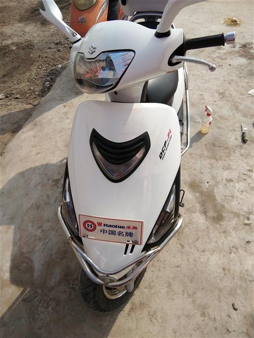 2013年购买的国三铃木海王星电喷,一千多公里,手续齐全,车况发动机如新,