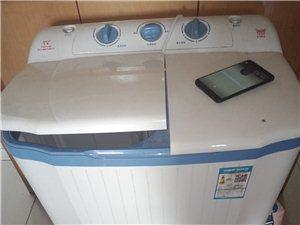 双缸洗衣机8成新,几乎没用卖价200,15954378788