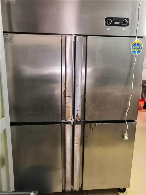 四门冰箱去年刚买新的。