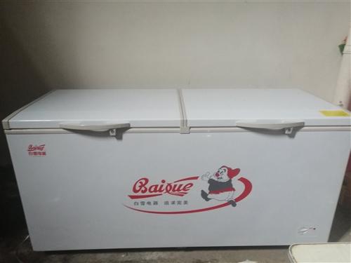 全新白雪冰柜,规格,520t,颜色,白,外形尺寸1820x750x1055mm。今年三月份购买的,因...