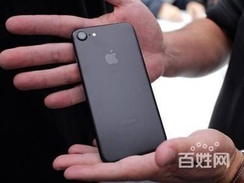 苹果7。128g。黑色。99新。
