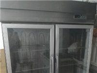 闲置双开门冷藏保鲜柜低价处理给钱就卖